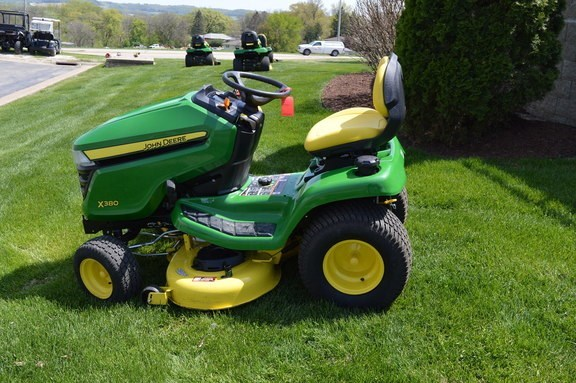 2017 John Deere X380 Riding Mower For Sale