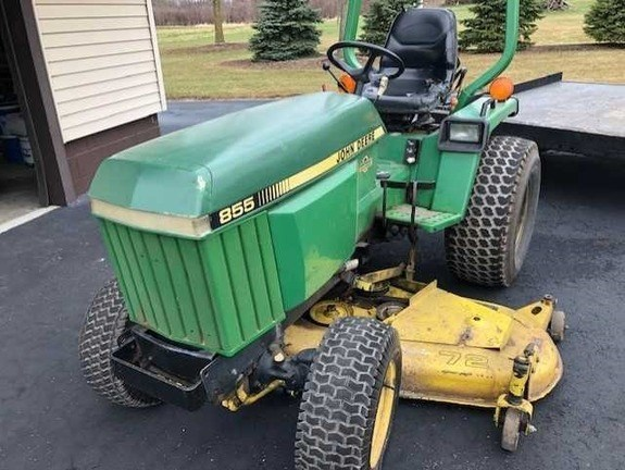 1995 John Deere 855 Tractor For Sale