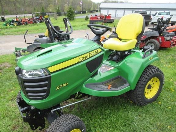 2017 John Deere X739 Lawn Mower For Sale
