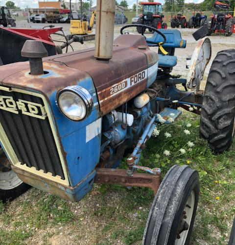 1976 Ford 2600 Tractor For Sale