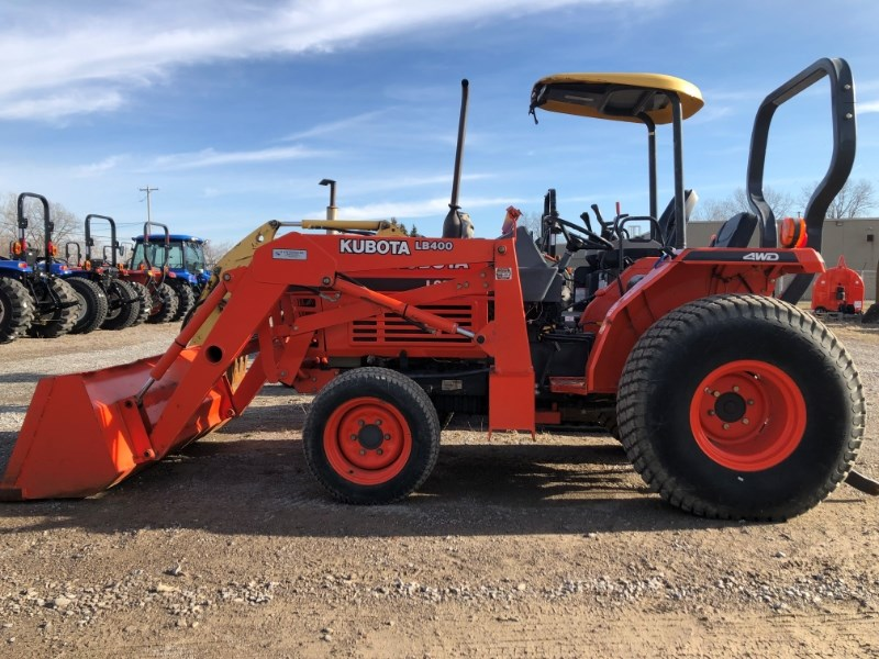 1998 Kubota L2500dt Tractor For Sale 187 Flint New Holland