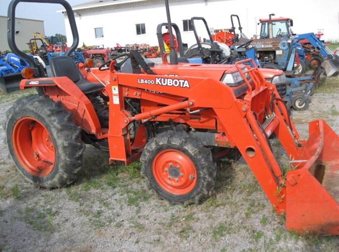 1999 Kubota L2500DT Tractor For Sale