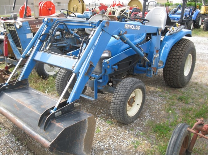 1999 New Holland TC25D Tractor For Sale