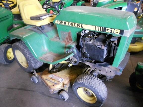 1987 John Deere 316 Lawn Mower For Sale