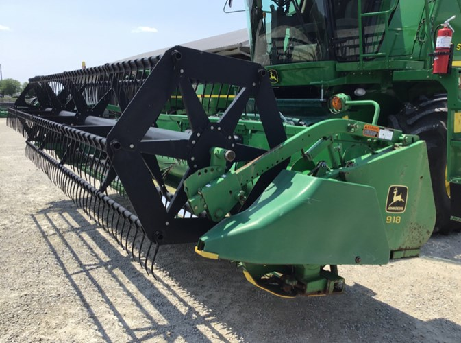 1998 John Deere 918F Header-Auger/Flex For Sale