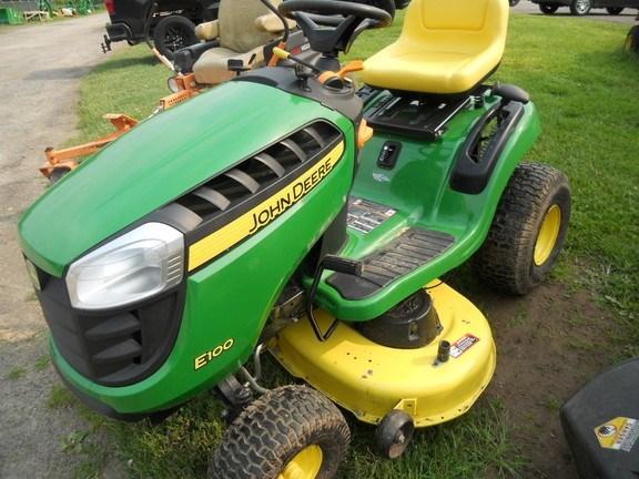 2017 John Deere E100 Lawn Mower For Sale