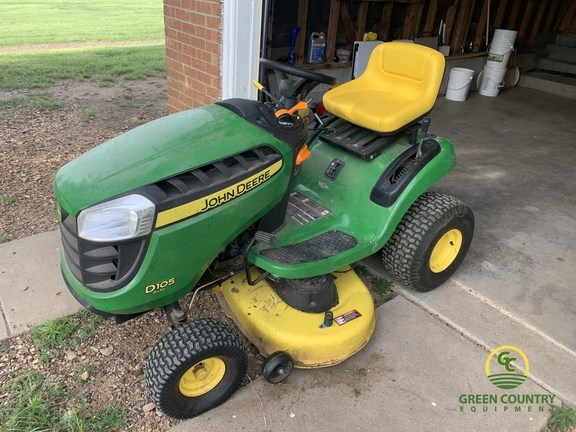2015 John Deere D105 Riding Mower For Sale