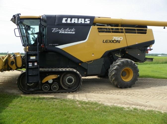 2014 CLAAS 760TT Combine For Sale