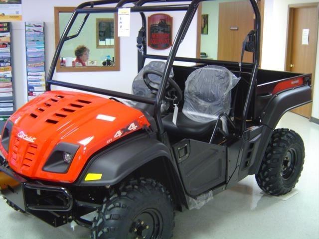 2012 Cub Cadet VOLUNTEER 4X4 ATV For Sale