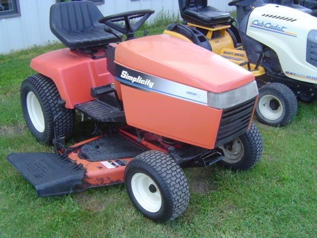 1996 Simplicity Landlord 16G Riding Mower For Sale