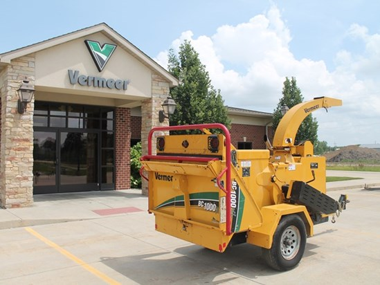 2014 Vermeer BC1000XL Chippers Goodfield Illinois