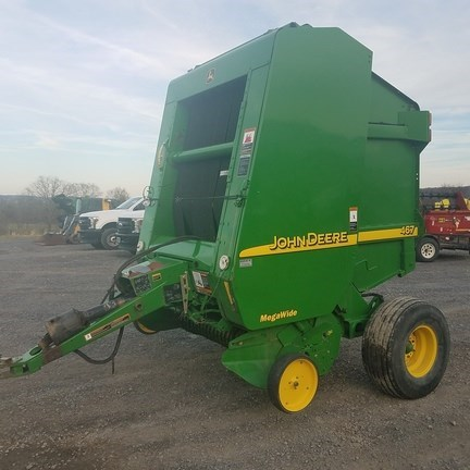 2003 John Deere 467 Baler-Round For Sale