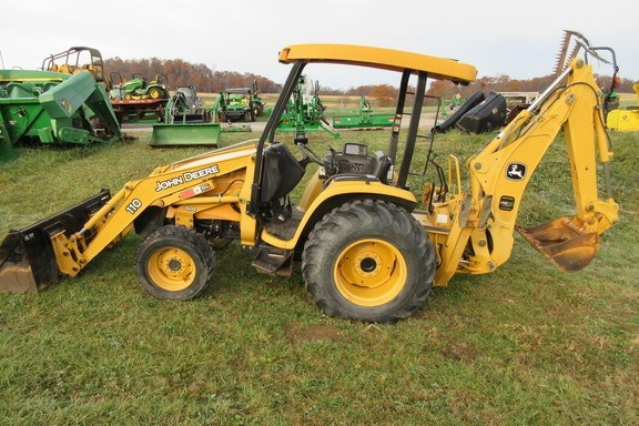 2003 John Deere 110TLB Loader Backhoe For Sale