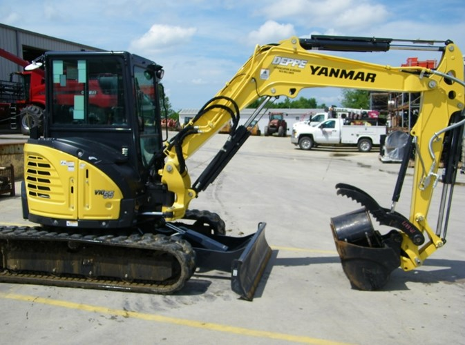 2019 Yanmar VIO55-6A Excavator-Mini For Sale