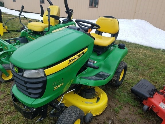 2013 John Deere X300 Lawn Mower For Sale