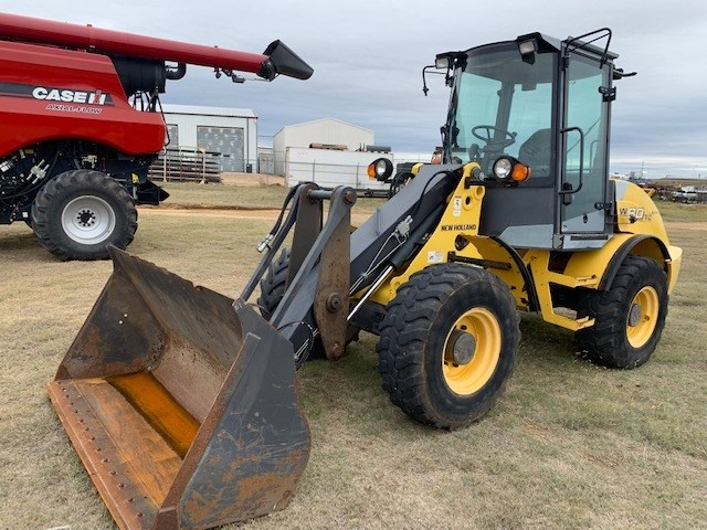 2008 New Holland W80TC Wheel Loader For Sale