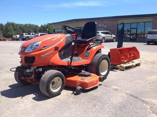 2014 Kubota GR2120-54 Riding Mower For Sale