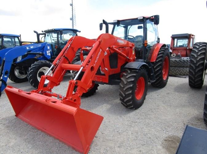 2014 Kubota M126GXDTC-F Tractor For Sale