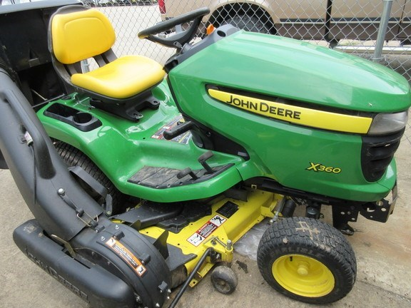 2013 John Deere X360 Riding Mower For Sale