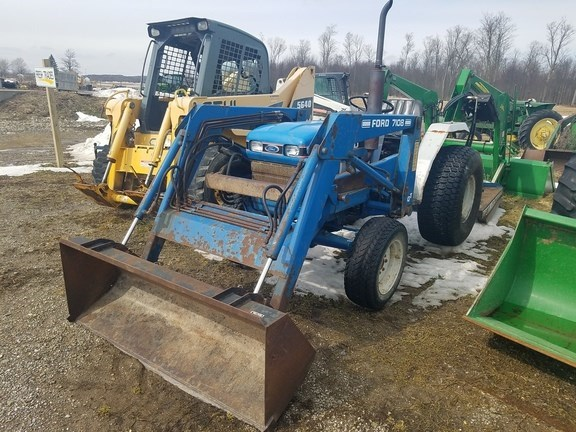 1988 Ford 1520 Tractor For Sale
