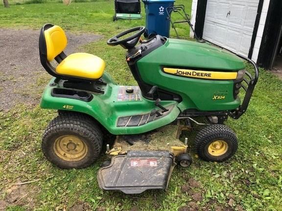 2012 John Deere X324 Lawn Mower For Sale
