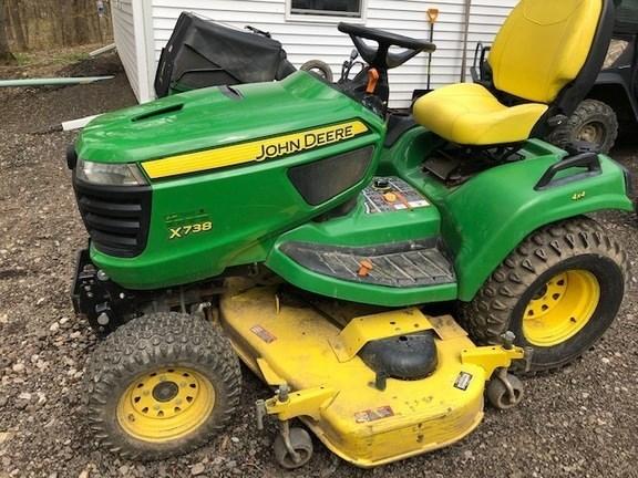 2014 John Deere X738 Lawn Mower For Sale