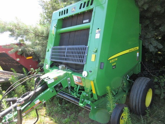 2018 John Deere 450M Baler-Round For Sale