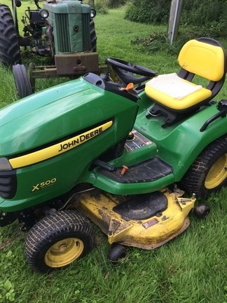 2010 John Deere X500 Lawn Mower For Sale