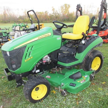 2013 John Deere 1025R Compact Utility Tractor For Sale