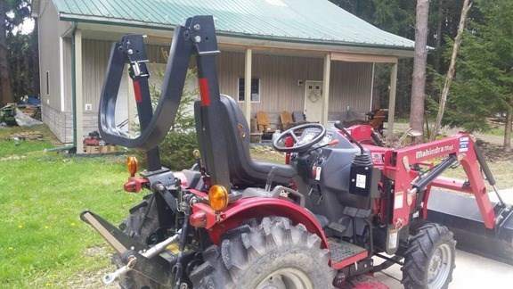 2014 Mahindra Max25 Tractor For Sale
