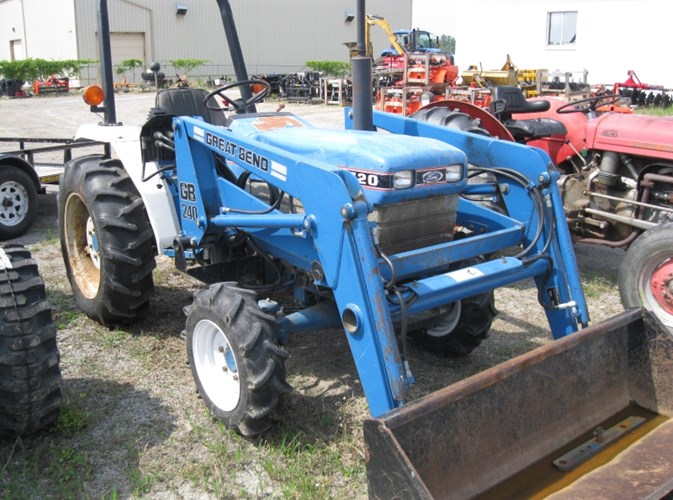 1988 Ford 1720 Tractor For Sale