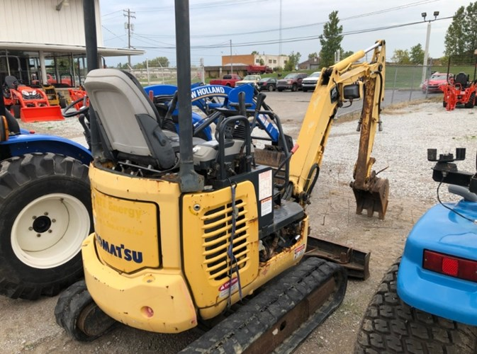 2009 Komatsu PC18MR-3 Excavator-Mini For Sale
