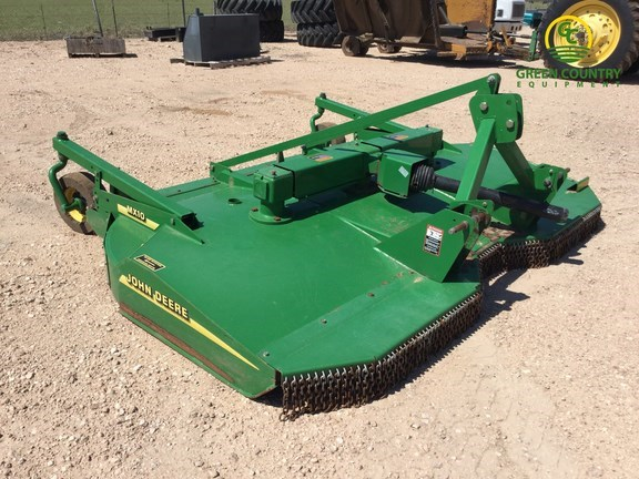 2004 John Deere MX10 Rotary Cutter For Sale Green Country