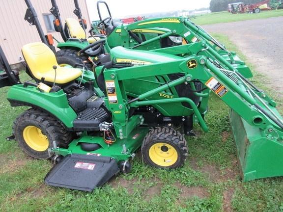 2016 John Deere 1023E Tractor For Sale