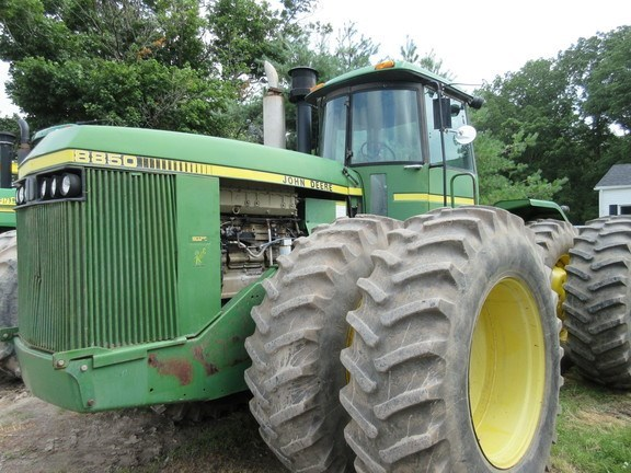 2000 John Deere 8850 Tractor For Sale