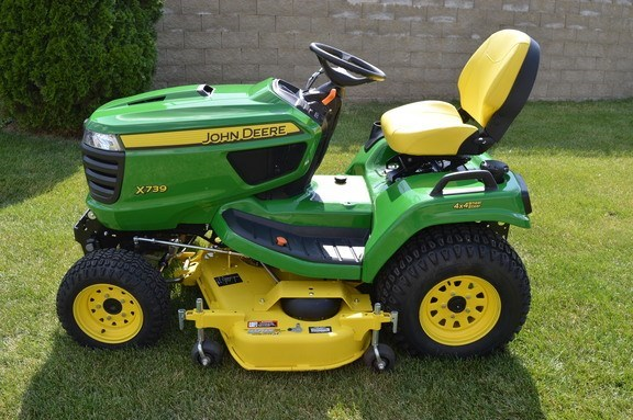 2018 John Deere X739 Riding Mower For Sale
