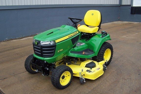 2018 John Deere X758 Riding Mower For Sale
