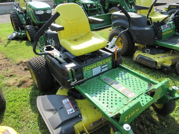 2018 John Deere Z335E Zero Turn Mower For Sale