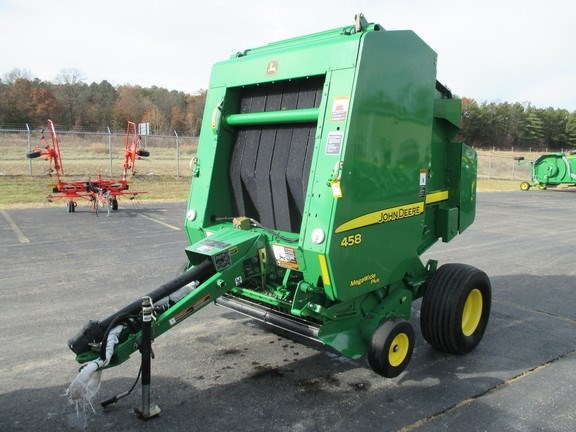 2012 John Deere 458 Baler-Round For Sale