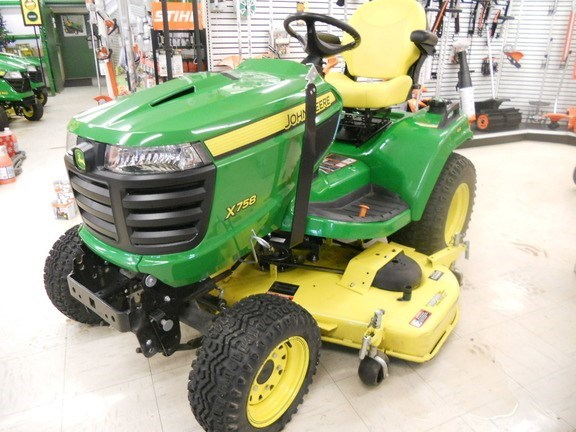 2017 John Deere X758 Lawn Mower For Sale