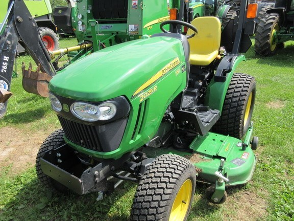 2015 John Deere 2025R Tractor For Sale