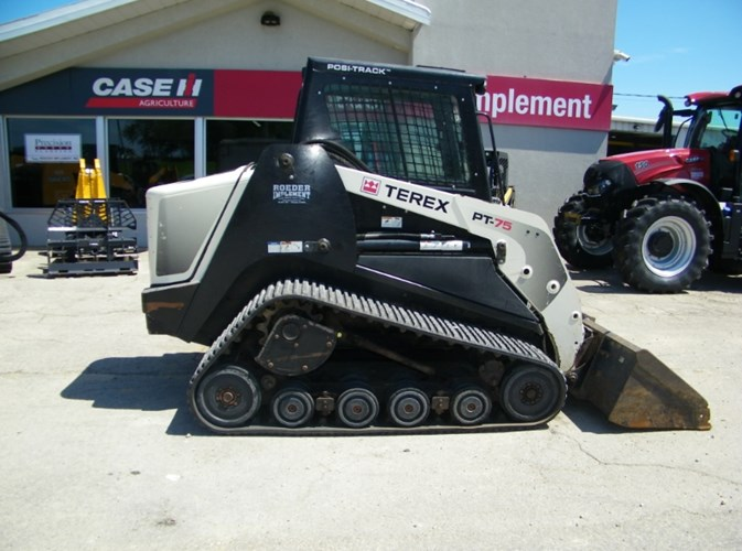 2014 Terex PT75 Skid Steer-Track For Sale