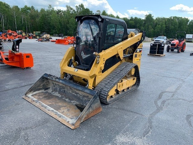 2018 Caterpillar 249D Skid Steer-Track For Sale
