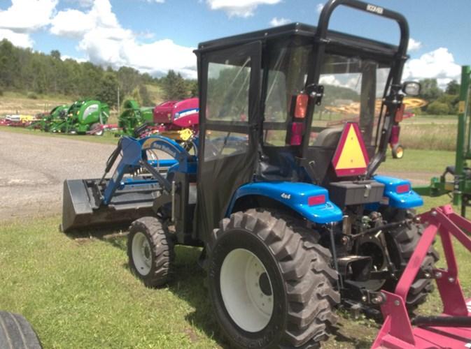 2010 New Holland Boomer 2035 w/ Bush Hog BH15 Tractor For Sale