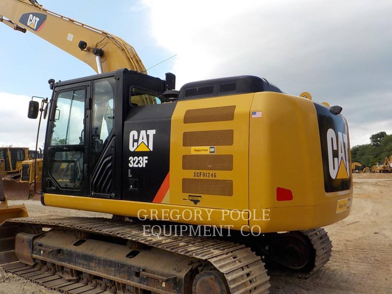 2016 Caterpillar 323F L Image 8