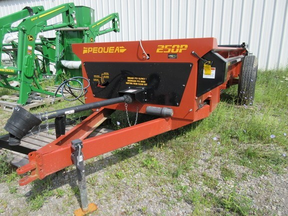 2015 Pequea MS250P Manure Spreader-Dry/Pull Type For Sale