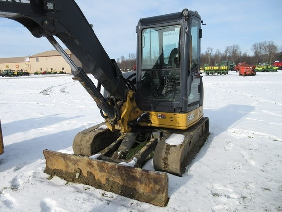 2011 John Deere 60D Excavator-Mini For Sale