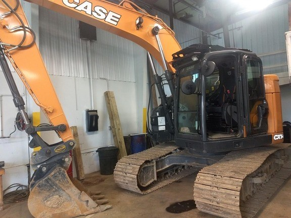 2017 Case CX145D SR Excavator-Track For Sale