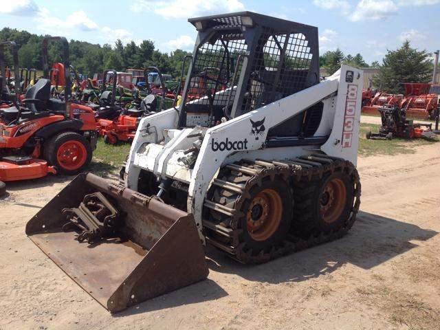 1995 Bobcat 853H Skid Steer-Track For Sale
