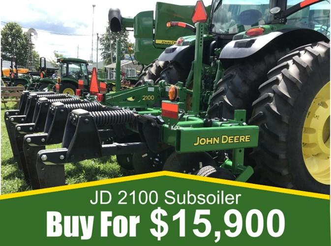 2017 John Deere 2100 Rippers For Sale